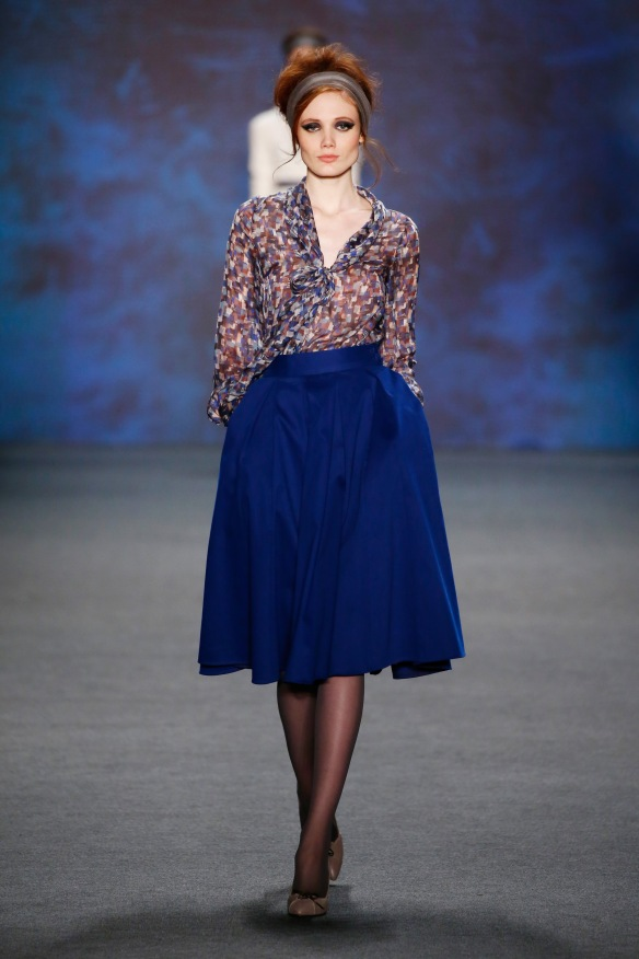 Lena Hoschek Show - Mercedes-Benz Fashion Week Berlin Autumn/Winter 2015/16