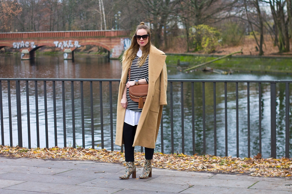 Floating Bohemian Camel Coat 1