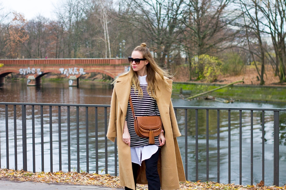 Floating Bohemian Camel Coat 2