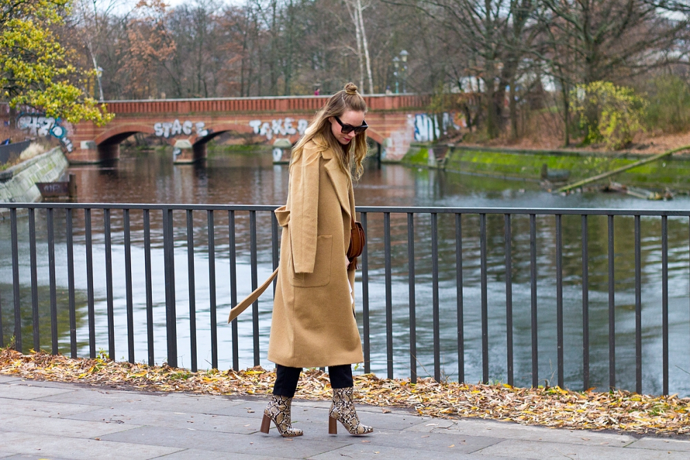 Floating Bohemian Camel Coat 3