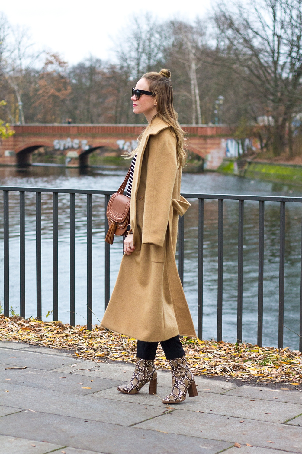 Floating Bohemian Camel Coat 5